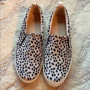 Never worn leopard sneakers